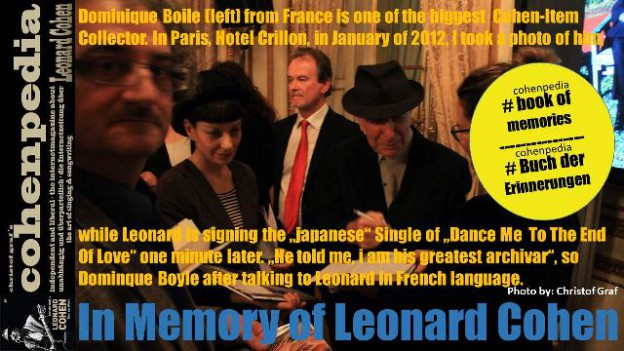 cohenpedia-headsite-in_MEMORY_OF_LEONARDCOHEN-dominique-boyle-singlessigning-2012-paris-k
