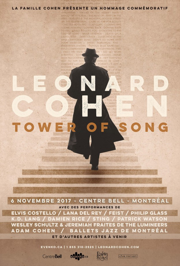 Tower of Song Poster - French